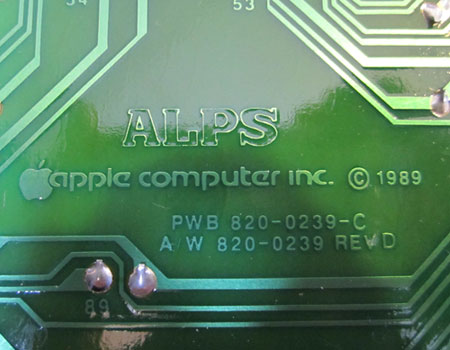 alps circuit board